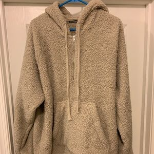 Other - Oversized Sherpa Hoodie